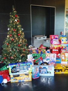 Kids'smas Toy Drive at Moody Gardens Golf Course