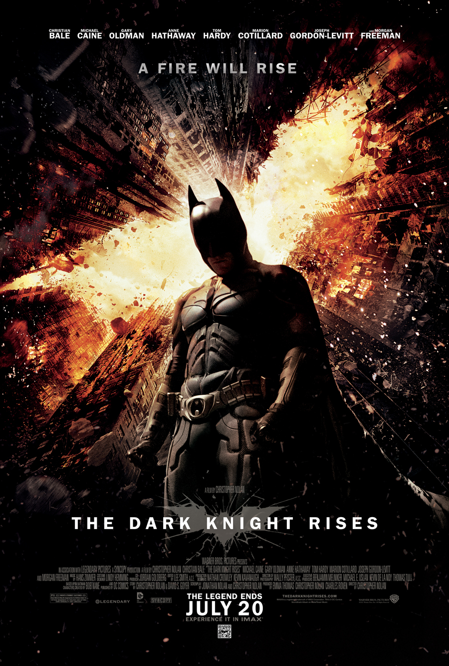 The Dark Knight Rises at Moody Gardens!