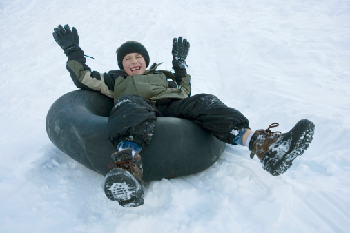 Arctic Fun at Moody Gardens: Snow Tubing