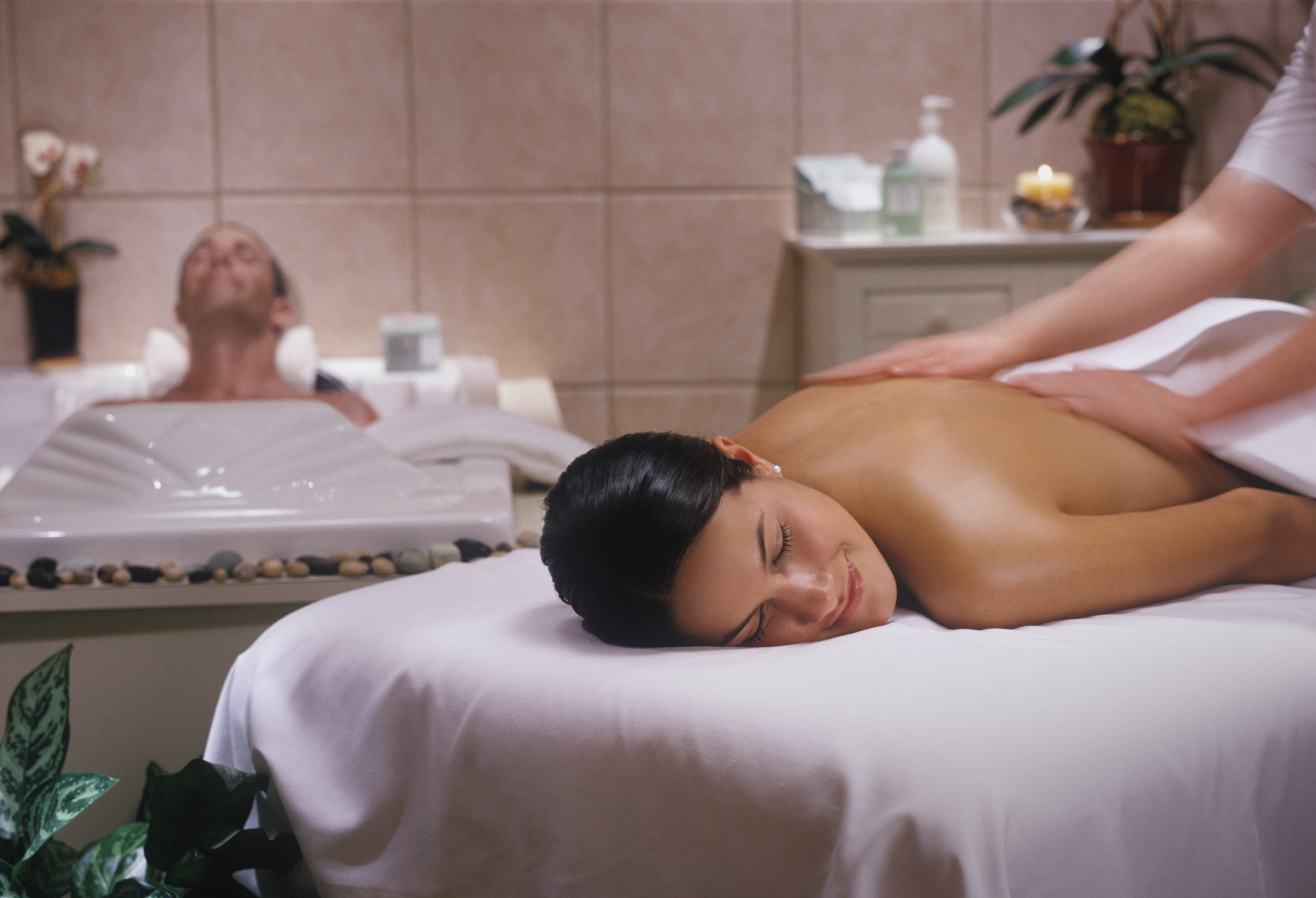 Relax at the Spa at Moody Gardens