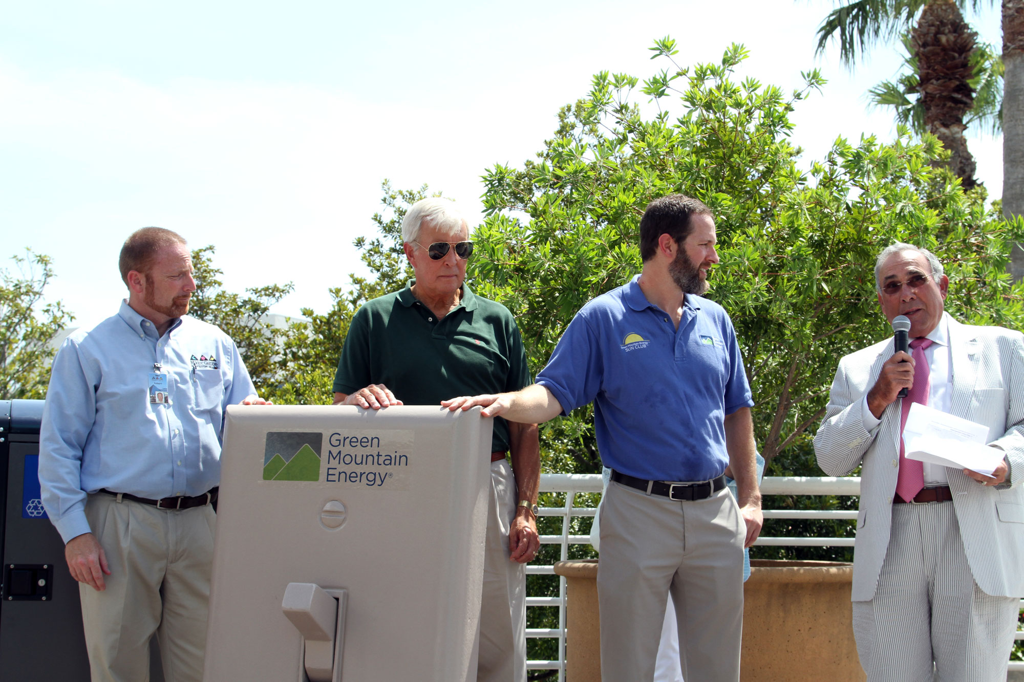 Mayor Rosen speaks about what it means to be green in Galveston