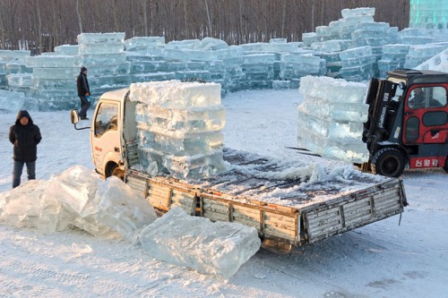 Known as the Ice City, over 3,000 of the world's top artisans create a 100-acre walk-through Ice Park complete with thousands of immense ice sculptures made from millions of pounds of ice.