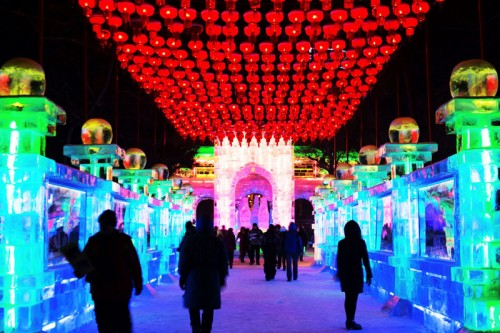 The conception of ICE LAND was inspired several years ago by the world's largest International Ice and Snow Festival in Harbin.